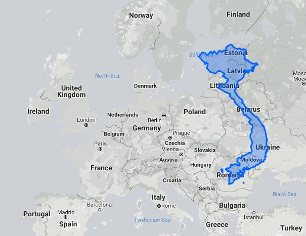 Vietnam size compared to EU